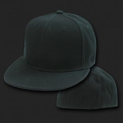 RP1 - Flat Bill Fitted Baseball Caps