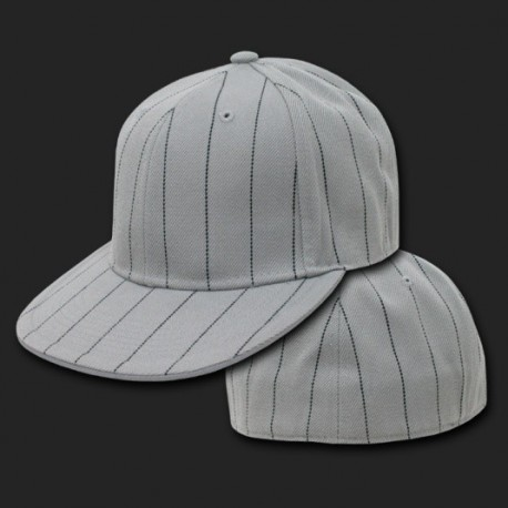 RP3 - Pin Stripe Fitted Baseball Caps