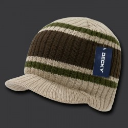 620 - Striped Campus Jeep Cap