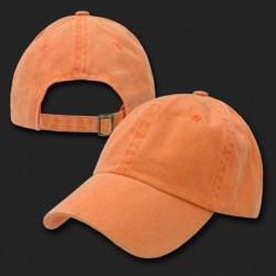 841 - Pigment Dyed Polo Caps