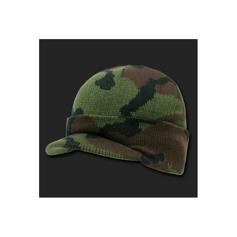 R604- Camouflage Jeep Caps Visor Beanies 924aec7bad0a
