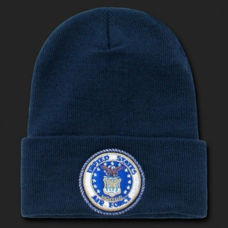 S81- Embroidered Military, Law Beanies