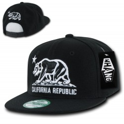 W1 - California Republic Snapback Hats