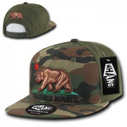 W23 - Camo Cali Republic Snapbacks