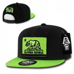 W8 - CALI Flag Snapbacks