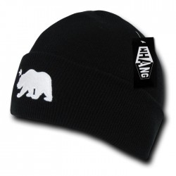 W19 - Cali Bear Long Beanies
