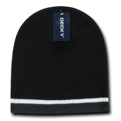 8015 - Double Striped Beanies