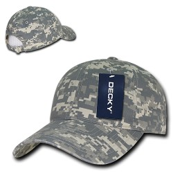 216 - Relaxed Cotton Camo Caps