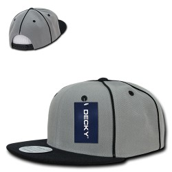 1078 - Piped Crown Snapbacks