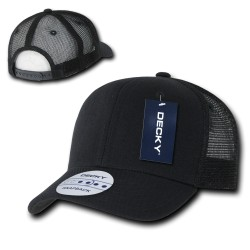 1053 - 6 Panel CURVE Bill Trucker Caps