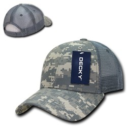 218 - Structured Camo Trucker Caps