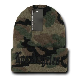Camo City Beanies, Los Angeles 2