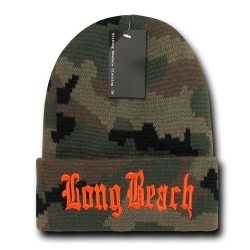 Camo City Beanies, Long Beach 1