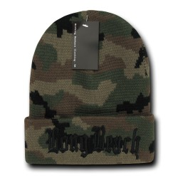 Camo City Beanies, Long Beach 2
