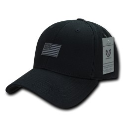 A07 - Structured Rubber Flag Cap
