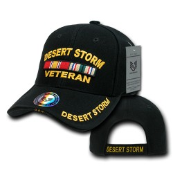 RD - Embroidered Military Baseball Caps
