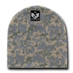 R602- Camo Beanies, Watch Caps (short)