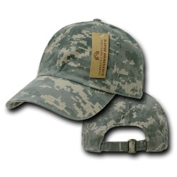 R830- Relaxed Cotton Camo Caps