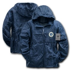 R37 - Solid Military/ Law Windbreaker