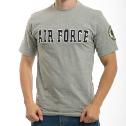 R17 - Applique Text Military T-Shirts