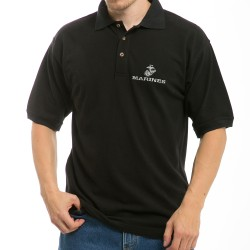 S31 - Embroidered Military Polo Shirt
