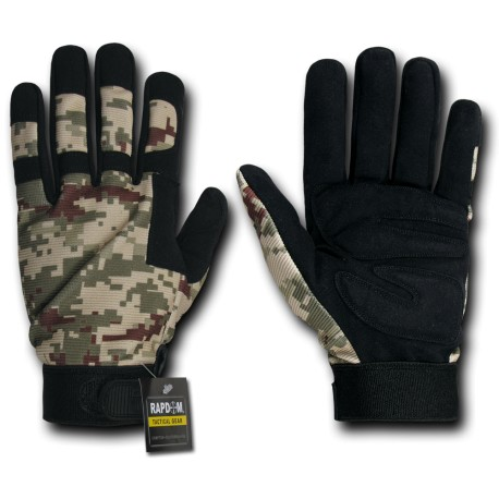 T09 - Digital Camo Tactical Gloves