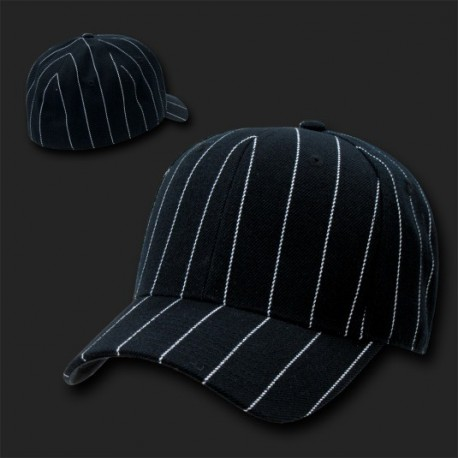 403- Pin Striped Fitted Baseball Caps
