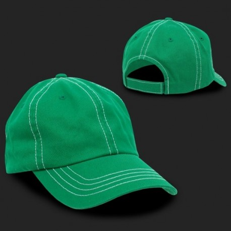 111 - Contra-Stitch Washed Polo Caps