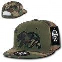 W16 - Camo Applique Cali Bear Snapback