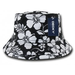 454 - Floral Fisherman Constructed Bucket Hat