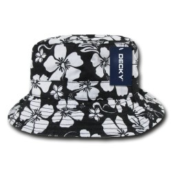 455 - Floral Polo Bucket Hat