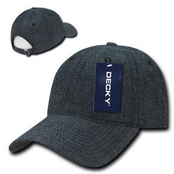 117 - Relaxed Washed Denim Caps