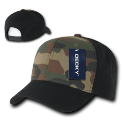 1048 - CURVE Bill Camo Baseball Caps