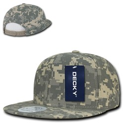 1047 - Digital Camo Snapbacks
