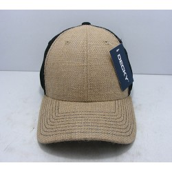 1136 - Low Crown Jute Trucker Caps