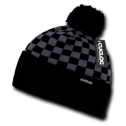 K019 - Changbai, Checker Beanies
