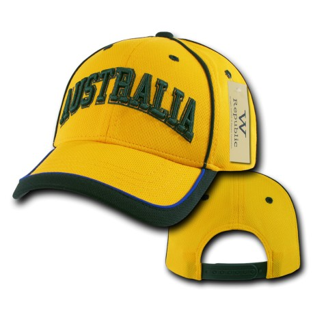 The Tournament Jersey Caps, Australia