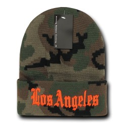 Camo City Beanies, Los Angeles 1