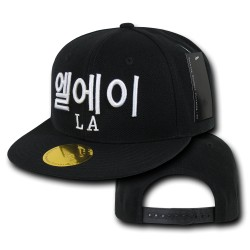 Hangul (Korean) City Caps, Los Angeles