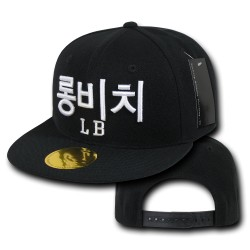 Hangul (Korean) City Caps, Long Beach