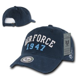 S80 - Vintage Athletic Military Caps