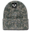 R607- Camo, Watch Caps, Cuff Beanies