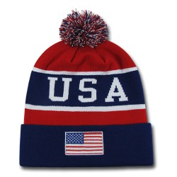 US800 - 'The Legend' US Flag Beanies