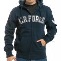 S43 - Full Zip Fleece Military Hoodies