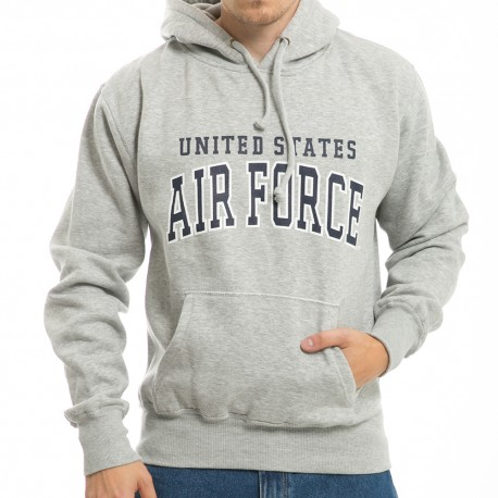 S46 - Grey Military Pullover Hoodies
