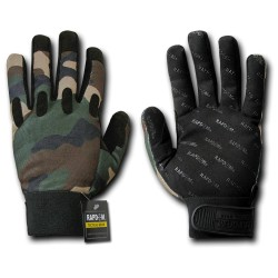 T27 - Camo Woodland Tactical Gloves